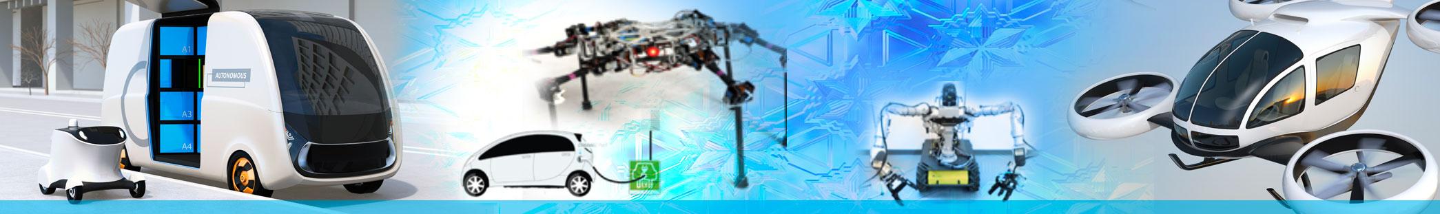 Autonomous Systems Photo Collage