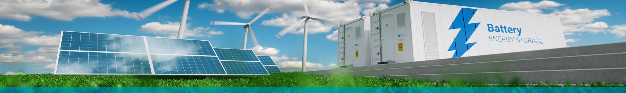 Green Energy Systems Graphic